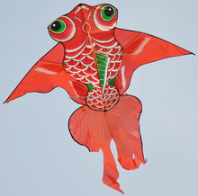 chinese beautiful goldfish kite fish kite