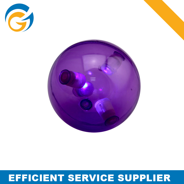 Purple Color Hard Spiky Rubber Ball