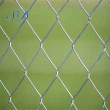 Removable Galvanized Diamond Chain Link Fence Mesh