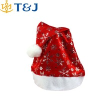 >>>New brand 2015 Non-woven Christmas Hats Red Xmas Caps Christmas Decoration Supplies/