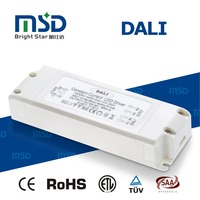 350ma 220vac 29-58vdc output dimmer 20w dali led driver with 5 years warranty