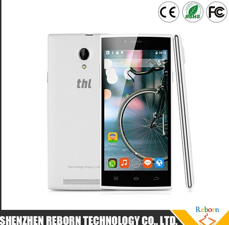 THL T6C 5.0 Inch Cell Phone MTK 6580 Quad Core 1.3GHZ Android 5.1 Smart Mobile Phone