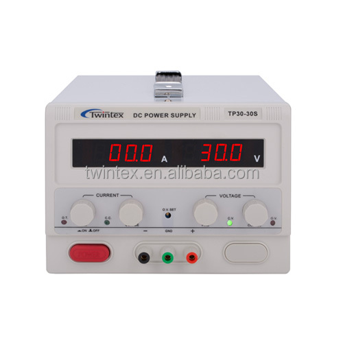 0-30V 0-10A TWINTEX TP30-10S Laboratory Switching Mode DC Power Supply