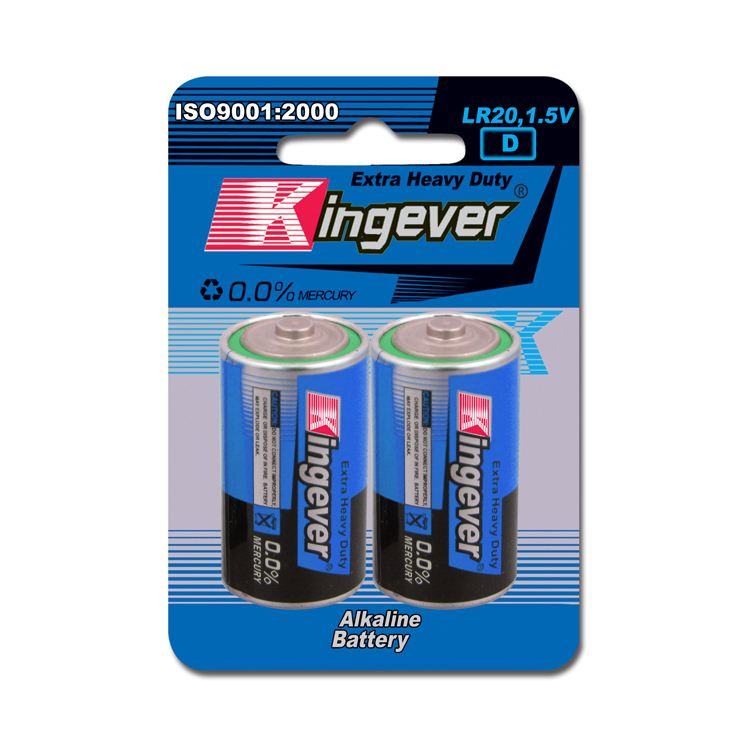 Top Quality super power lr20 1.5V d size carbon Zinc alkaline battery