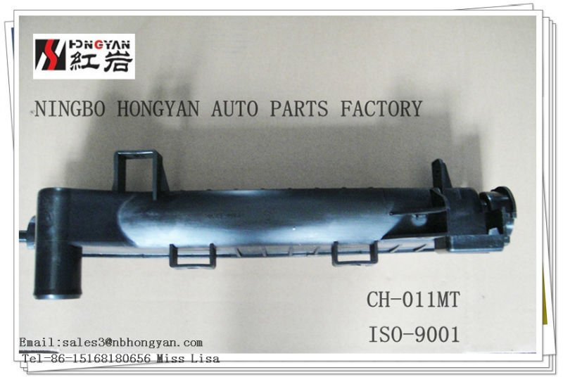auto radiator plastic tank ,car tank for chrysler and auto parts for caravan/voyager