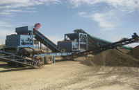 Mobile magnet.The mobile system of iron ore up gradation (Full-scale)