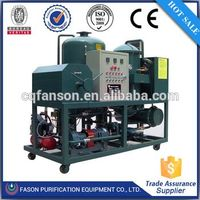 small used oil filtering machine with CE