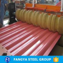 building materials ! high rib roofing sheet galvanized corrugated steel roofing tiles