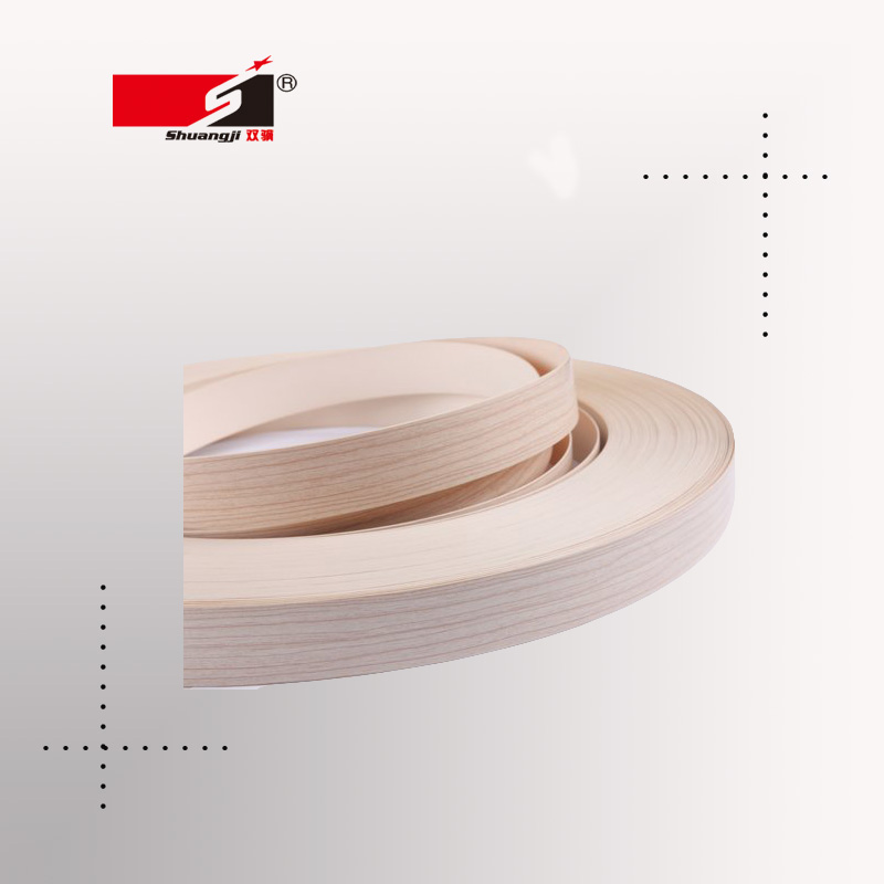 The latest edge banding oak PVC wood grain
