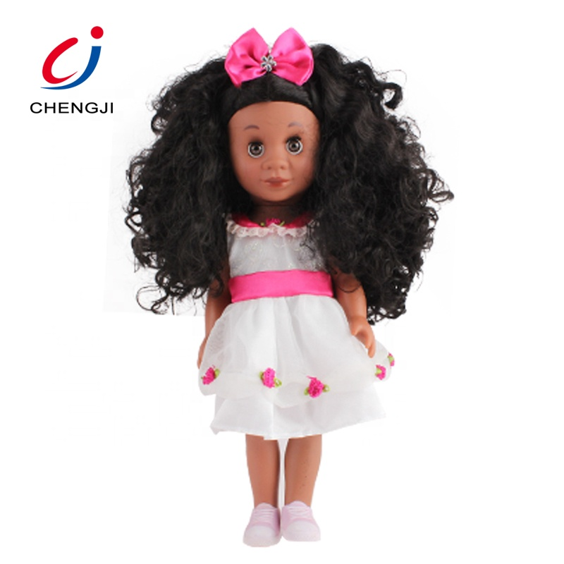 Cheap fashion plastic mini custom alive toy black african girl baby <strong>doll</strong>