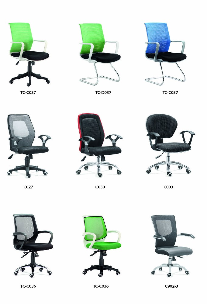 all colors hot sell high quality mesh office chair factory price TC 193