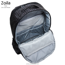 Big capacity and many inside sleeve pockets travel backpack bag