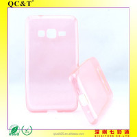 new arrival mobile phone clear tpu Ultra thin Jelly case cover for samsung Z1 Z130H