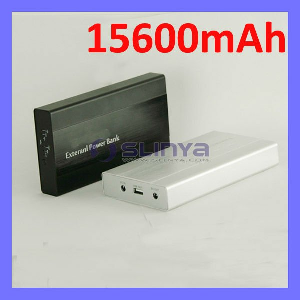 15600mAh Power Bank External Notebook Backup Battery Charger For HP