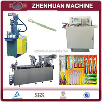 Complete Toothbrush Making machine with packing machine
