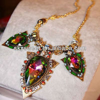new indian design emerald stone necklace designs, big heavy emerald stone necklace designs
