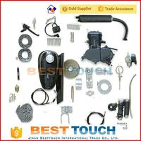 Hot sale 2 stroke gas bike motor kit, bicycle engine kit motorized bicycle kit gas engine engine parts