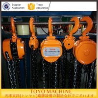 toyo japan CK model 5 ton manual chain pulley block