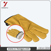 Useful design customized color fancy warm construction driving work gloves