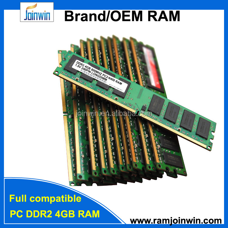 Lifetime warranty desktop/longdimm 4gb ddr2 800mhz memory