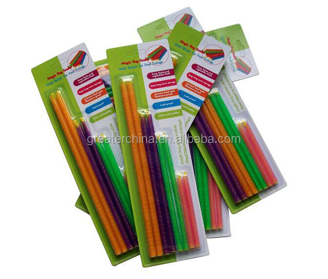 Eten Bag Sealer Clips/Gripstic Seal Clip/Bag Clip Sealer Sticks