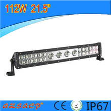 very popular mixed 112w off road light bar for truck vehicles