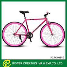 DIY 700c Colourful Fixie Frame TAIWAN Made Bicycle Parts Fixed Gear Bicycle