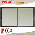 High quality double glass thermal break aluminium sliding doors