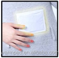 Disposable adhesive heating transfer patch
