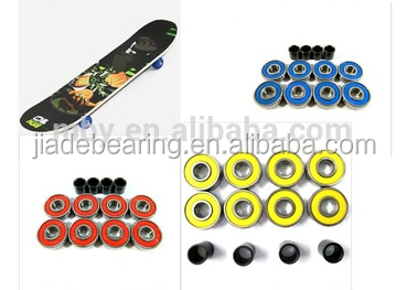 hot sale high quality free sample skateboard bearing 608 ZZ Z 2RS RS deep groove ball bearing