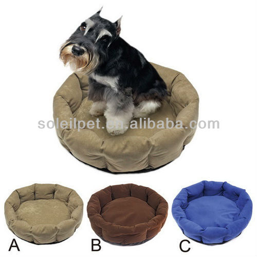 Micro suide pet bed, dog bed