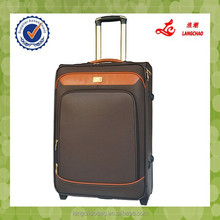 business man style brown check material travel luggage set