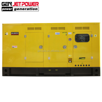 UK diesel engine fuel less generator water powered generator 150KVA 120KW silent generator