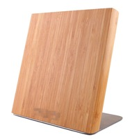 Bamboo Magnetic Knife Block Knife Block Set For Wholesale And High Quality