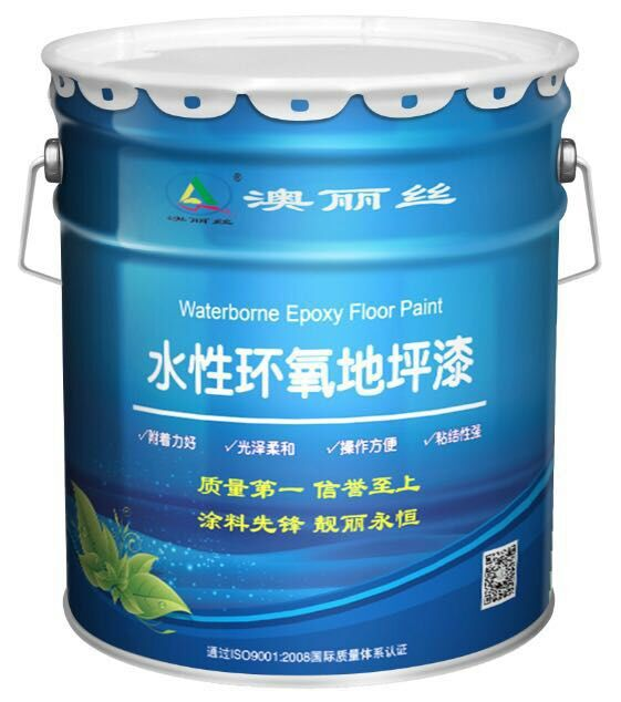 healthy and green adhere strong Water - borne epoxy floor paint