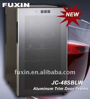 FUXIN:JC-48SBLW ,Mini Bar hold 18 bottles (Thermoelectric cooling system with two chips).