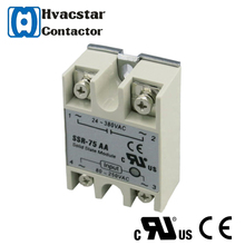 AC to AC ssr relay 380vdc solid state relay 75a