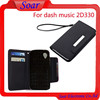 wallet case for Blu dash music 2 D330,luxury pouch PU leather case for Blu dash music 2 D330