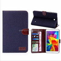 Luxury Business Style Stand Function tablet case for samsung galaxy tab 4.8.0 T330