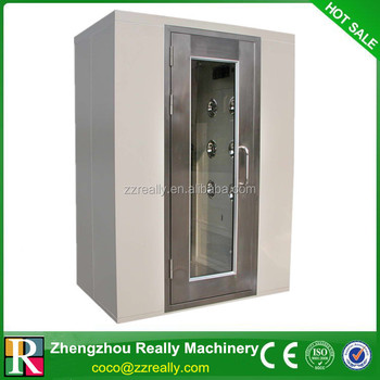 Decontamination air cleaning equipment medical air shower