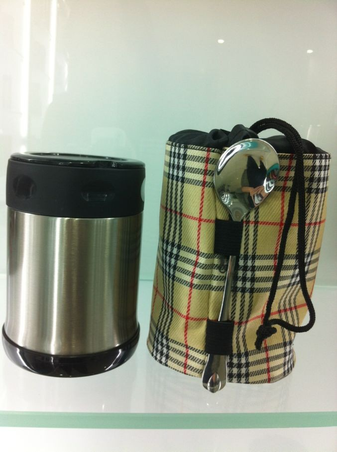 High Vacuum Treatment Food Container QE-5021vacuum flask thermos