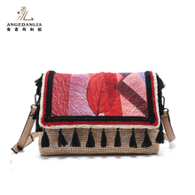 Custom design hippie style women lady walking sling shoulder bags