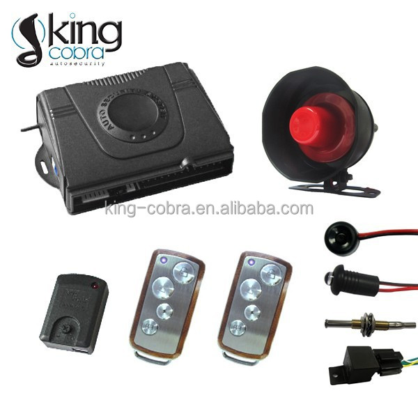 Full function one way anti-hijack car alarm system