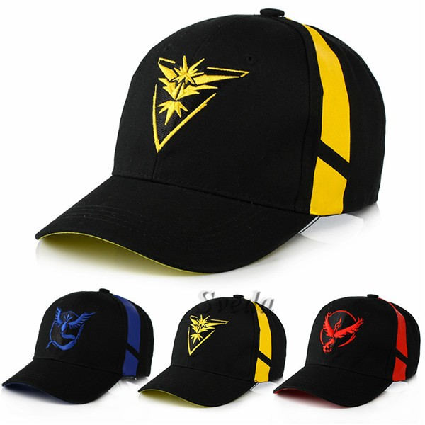 Sveda Cap SV-PM014B, 2016 Hot Game Pokemon Go Baseball Cap wholesale,Promotion Cap for Pokemon Go funs