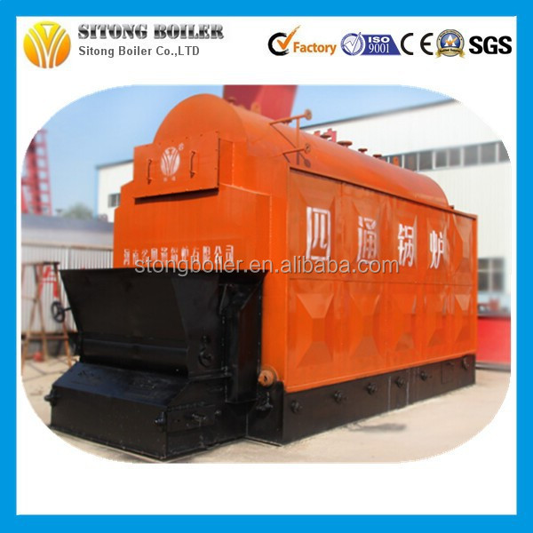 DHL series coal fired boiler with combustion chamber