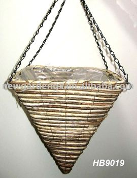 how to make a hanging basket with rope