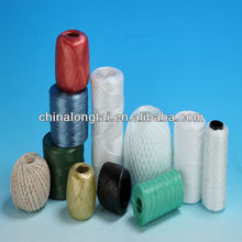 pp cable filler yarn/polyester sewing thread/packing rope/pvc clothes line