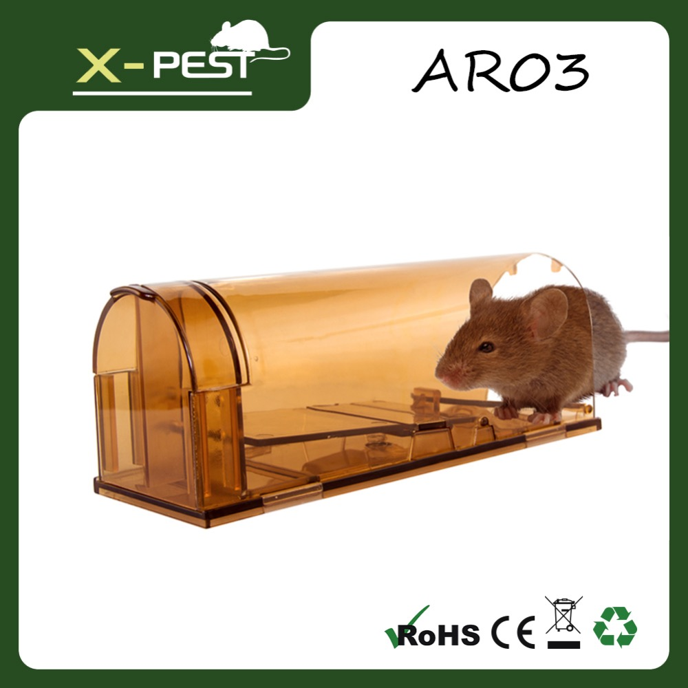 X-pest AR03 Rat Trap - Small Animal Humane Live Cage /Large Mouse Trap
