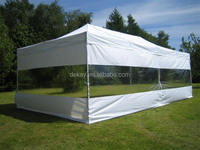 4x8m waterproof 50mm hexagonal tube aluminium instant canopy/Marquee tent