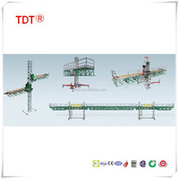 Mast climbing lifting aerial working cradle ,windows cleaning suspended platform,mast climber for building construction